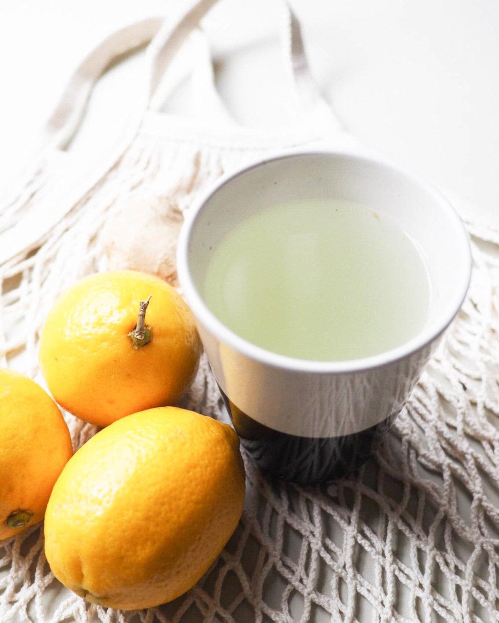Lemon + Ginger Tea