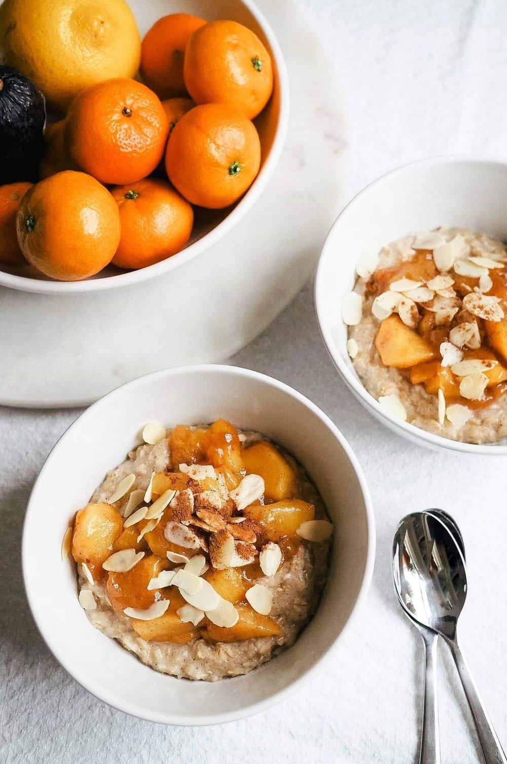 Persimmon Porridge Recipe - Kris Gill