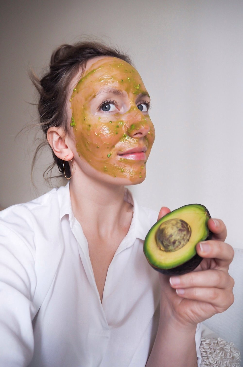 DIY Hydrating Face Mask - Kris Gill