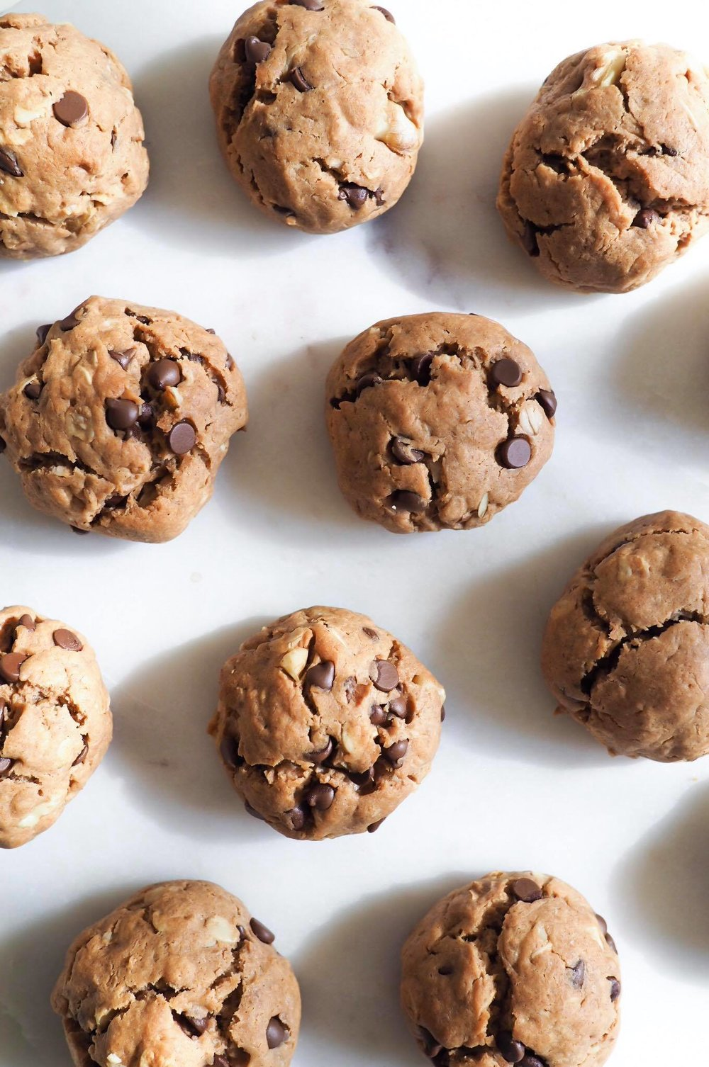Healthy(ish) Chocolate Chip Cookies - Kris Gill