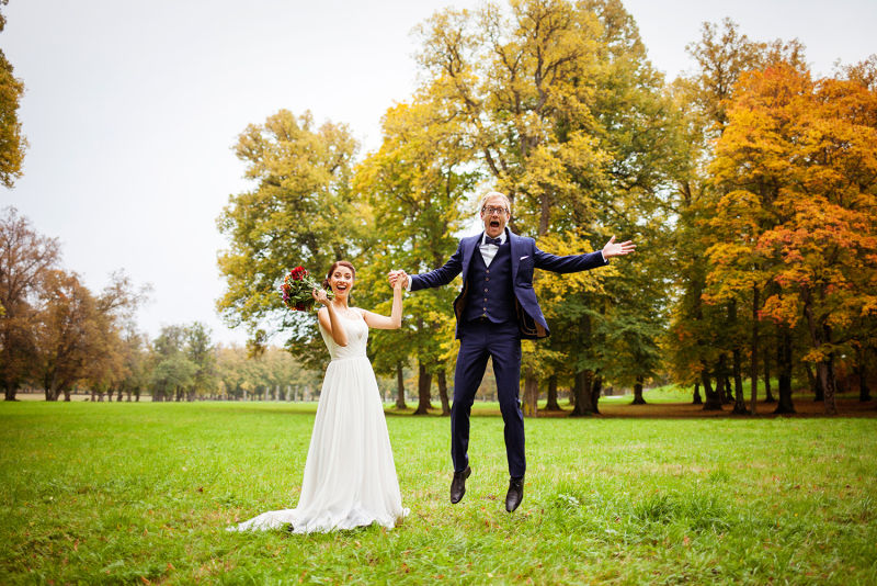 Perrine & Stefan - Weddings are fun fun fun