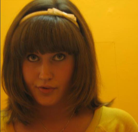 That hair though. Mirror selfie, Edinburgh,2006.