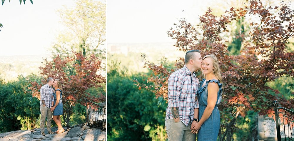 Kathryn Frugé Cincinnati Ohio Film Photographer Engagement Garden of Hope Courtney and Jason 2017 The FIND Lab Kodak Portra 400 Pushed_0007.jpg