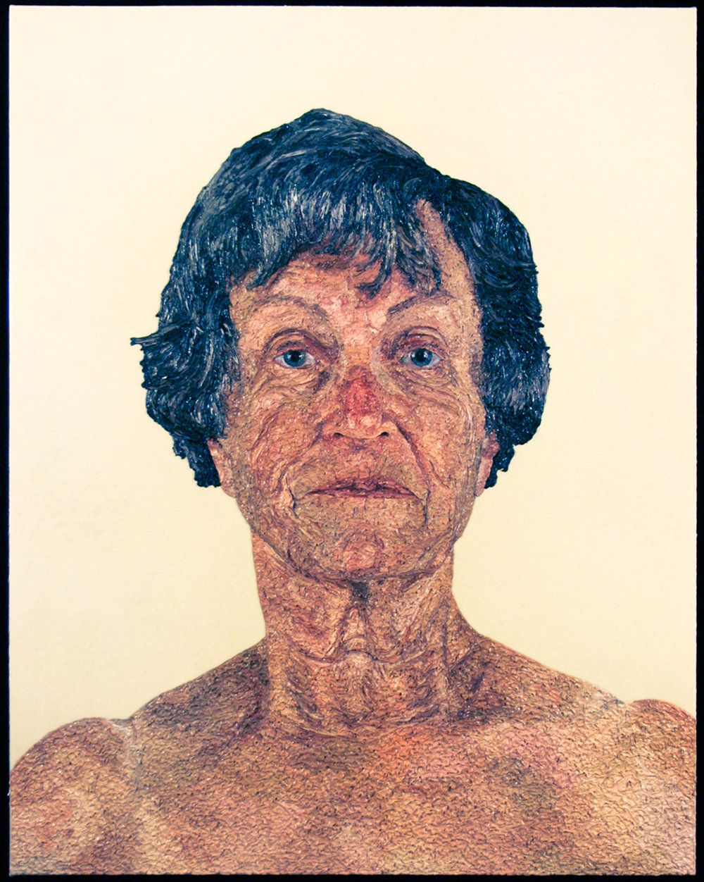 Grandma, 2008  |  48 x 40 inches  | oil and urethane on canvas