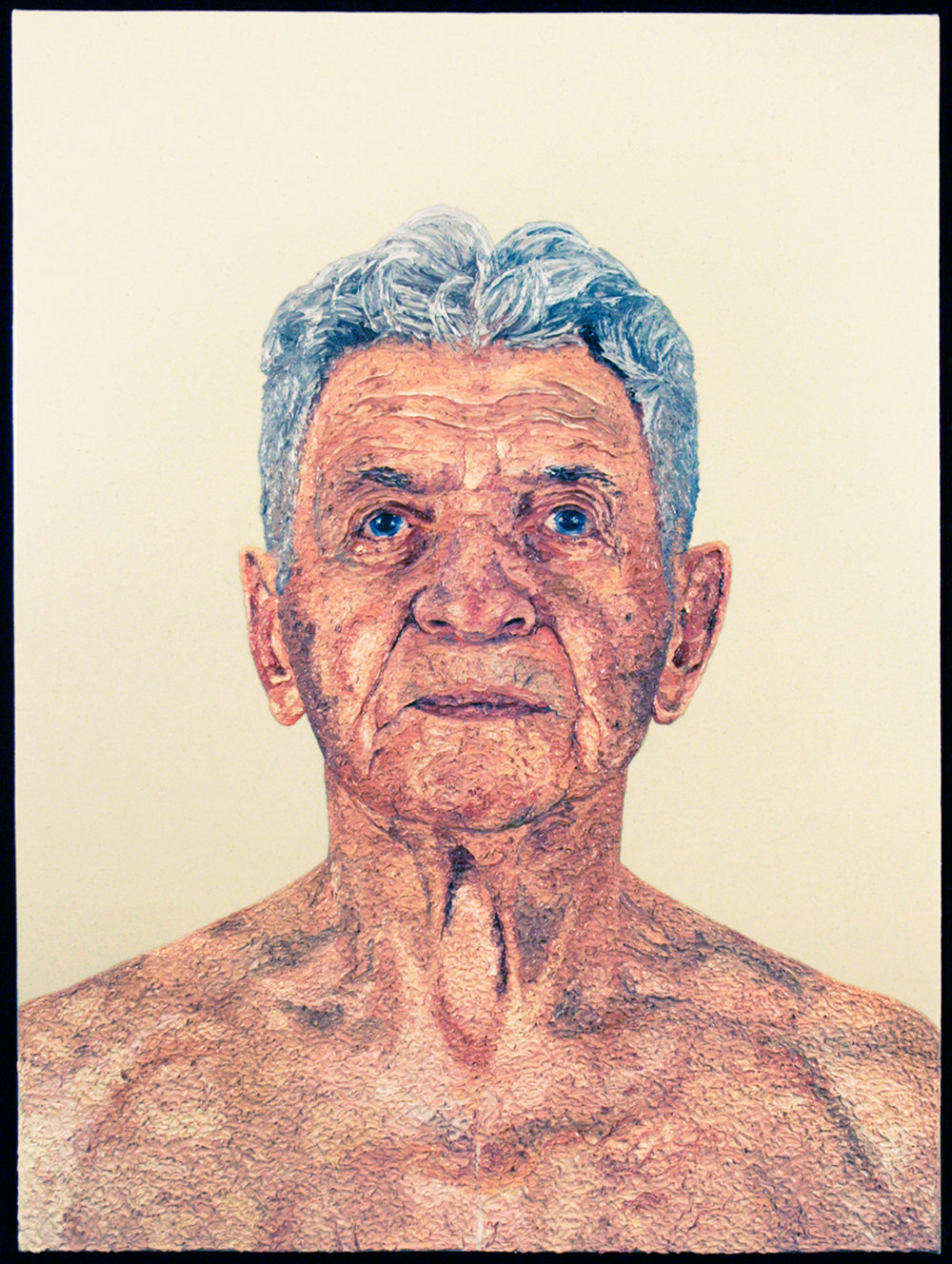 Grandpa Joe, 2008  |  48 x 38 inches  |  oil and urethane on canvas