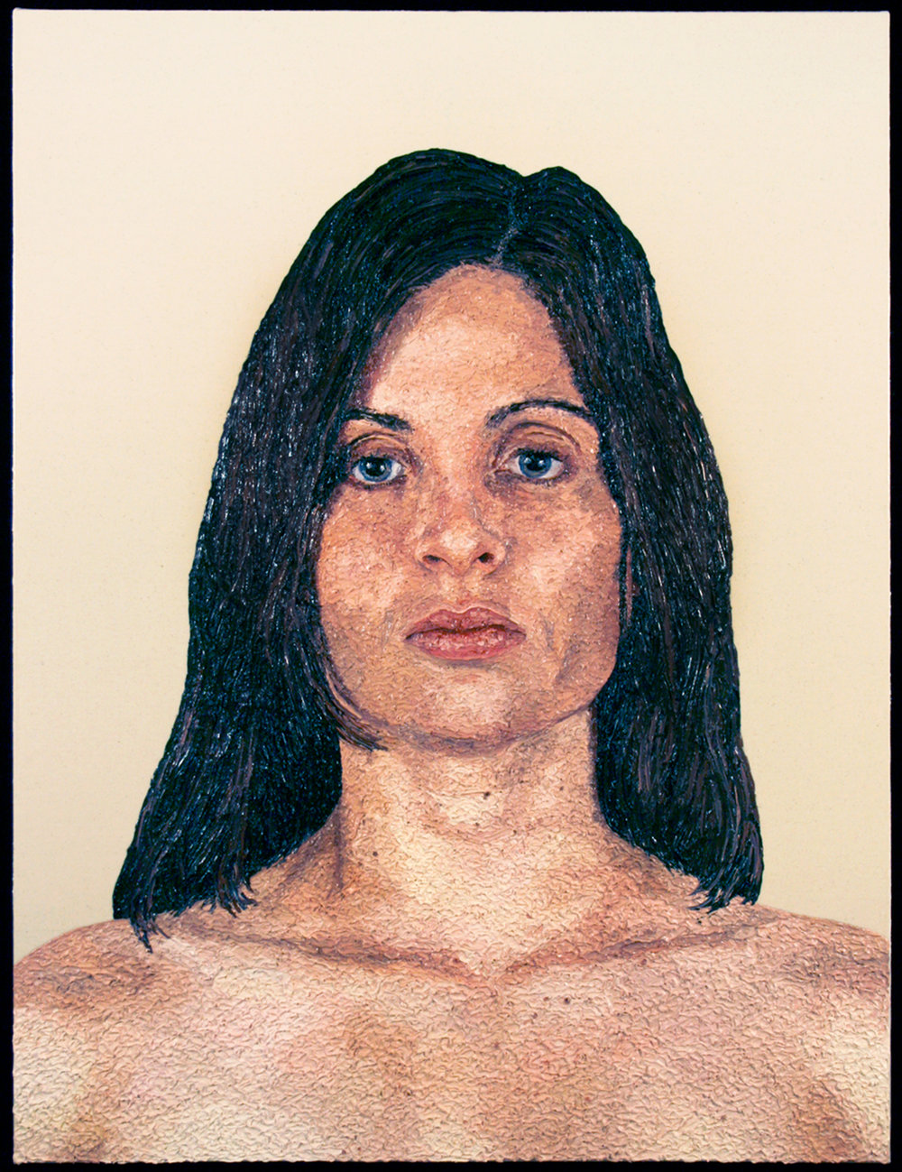 Julie, 2008  |  48 x 36 inches  |  oil and urethane on canvas