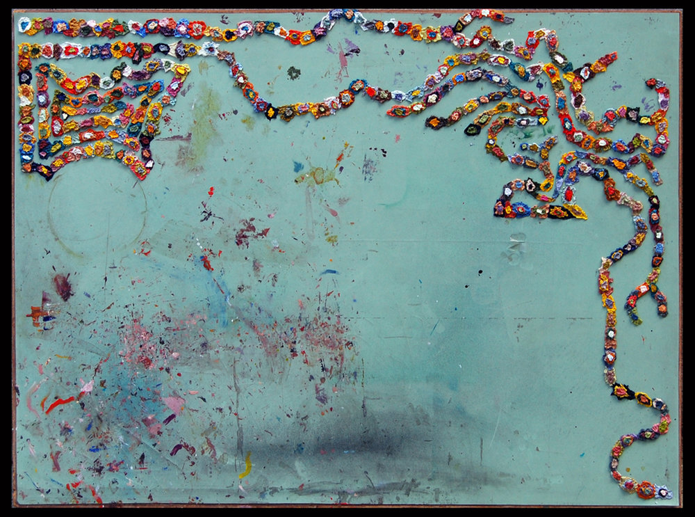 AP VI (Abstract), 2009  |   31 x 42 inches  |  oil on drafting table top