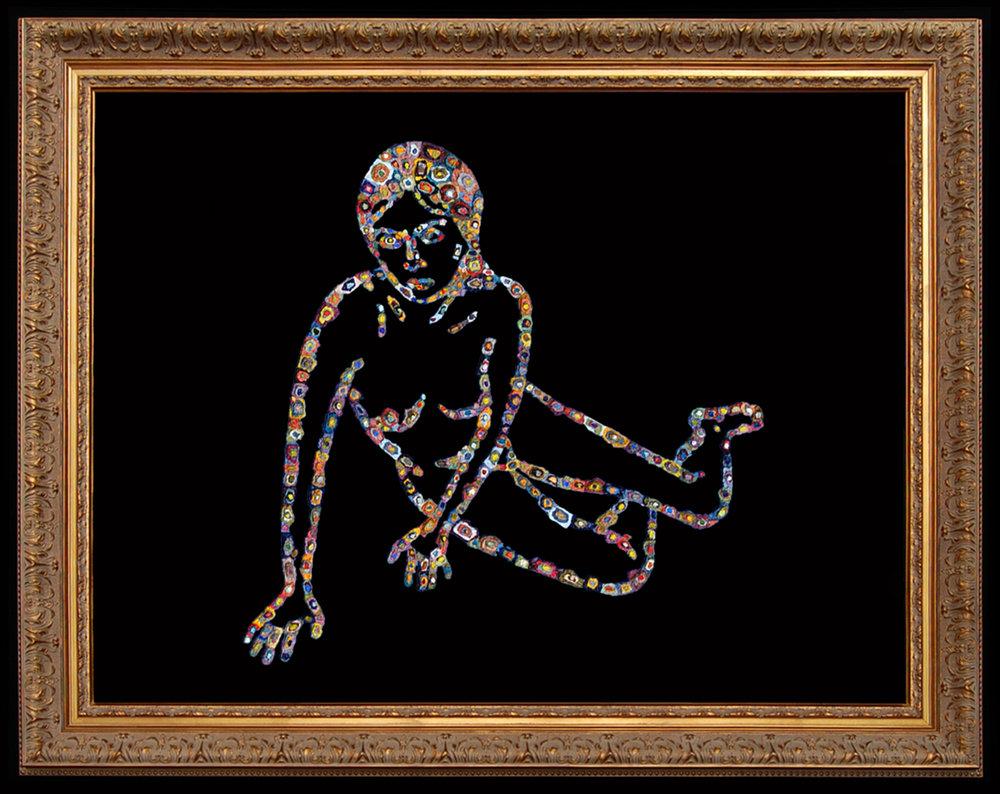 AP XIII (Julie), 2009  |   36 x 44 inches  |  oil on plexiglas (framed)