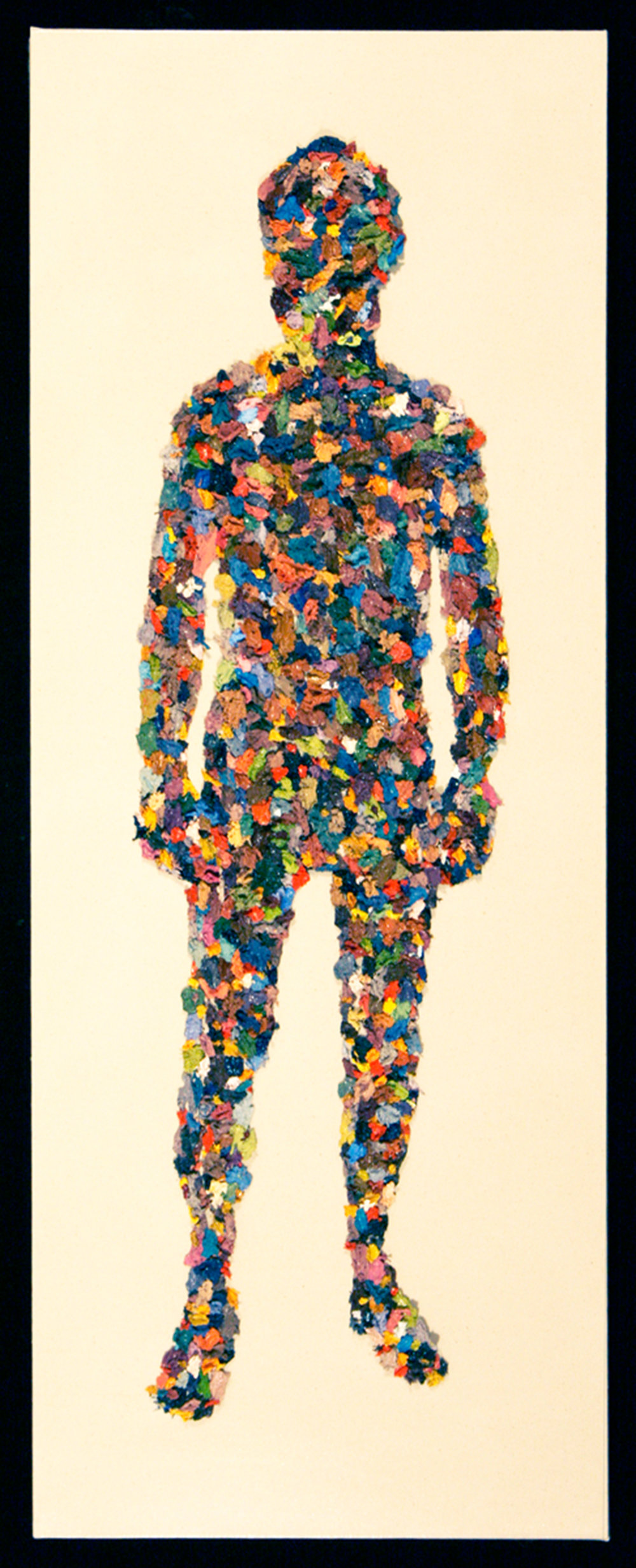 AP X (Self-Portrait), 2008  |   48 x 18 inches  |  oil and urethane on canvas