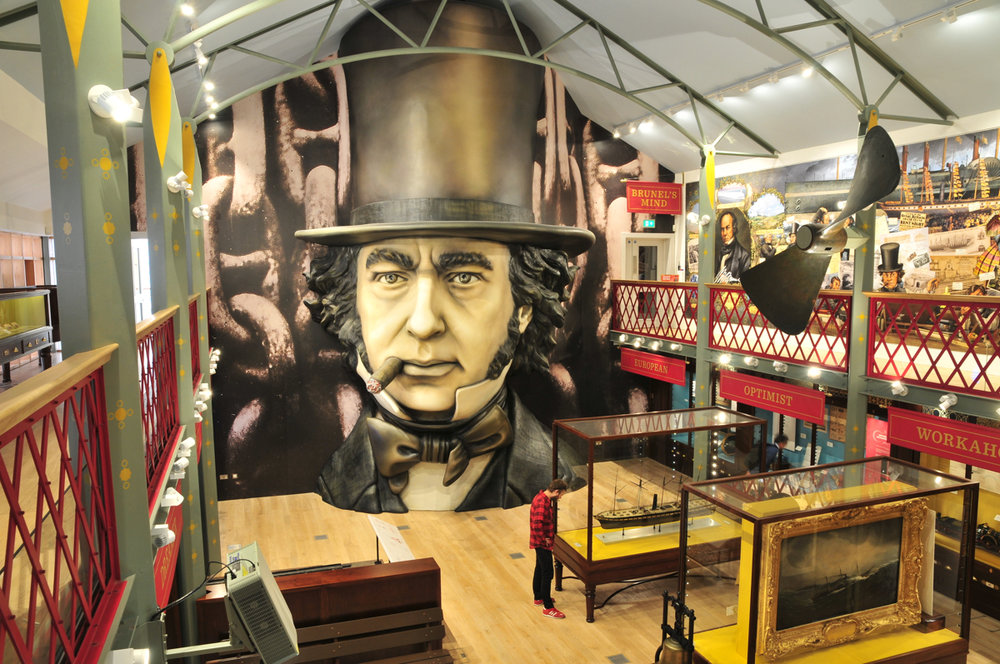 THE 'BEING BRUNEL' MUSEUM IN BRISTOL. Click on image for more