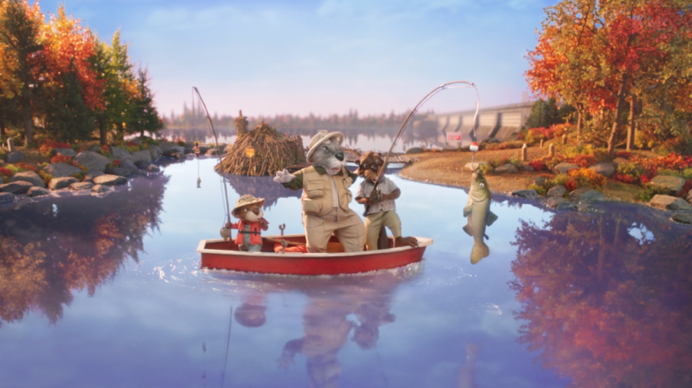 'DAMMY THE BEAVER' A PUBLIC INFORMATION FILM FOR AARDMAN ANIMATIONS FOR ONTARIO POWER GENERATION . Click to watch