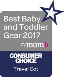 Consumer Choice Travel Cot