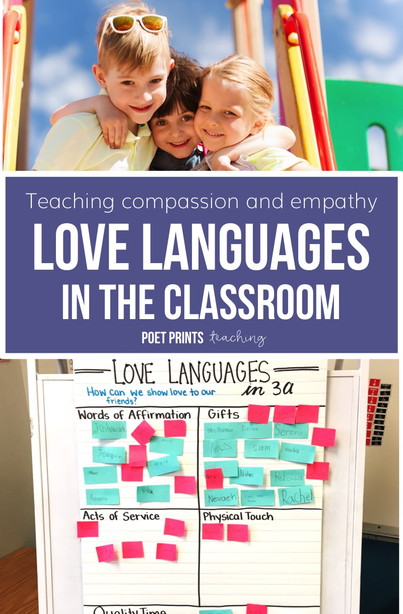 Poetprints.ca Love Languages in the Classroom