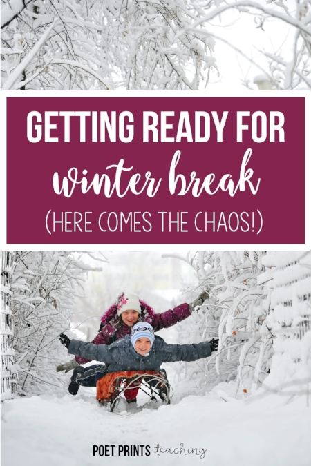 Poet Prints Getting Ready for Winter Break