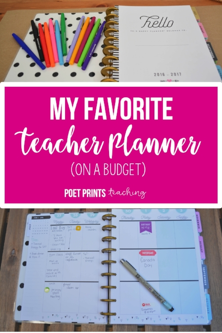 Happy Planner for Teachers