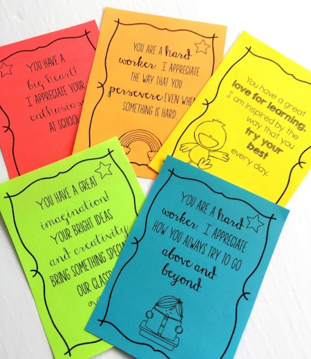 Positive Notes by Poet Prints Teaching