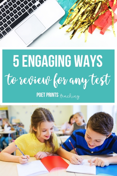 5 ways to review for any test - Poet Prints Teaching