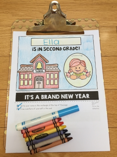 4 resources that are perfect for the first week back at school in elementary! - Poet Prints Teaching
