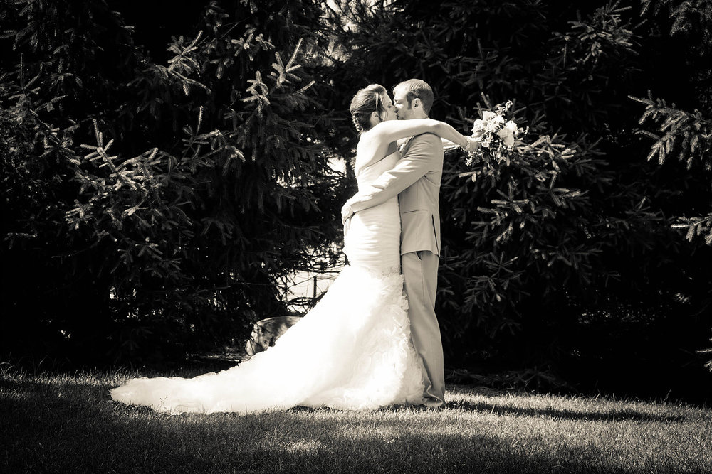 New Castle, Indiana wedding at the Henry County Arts Park