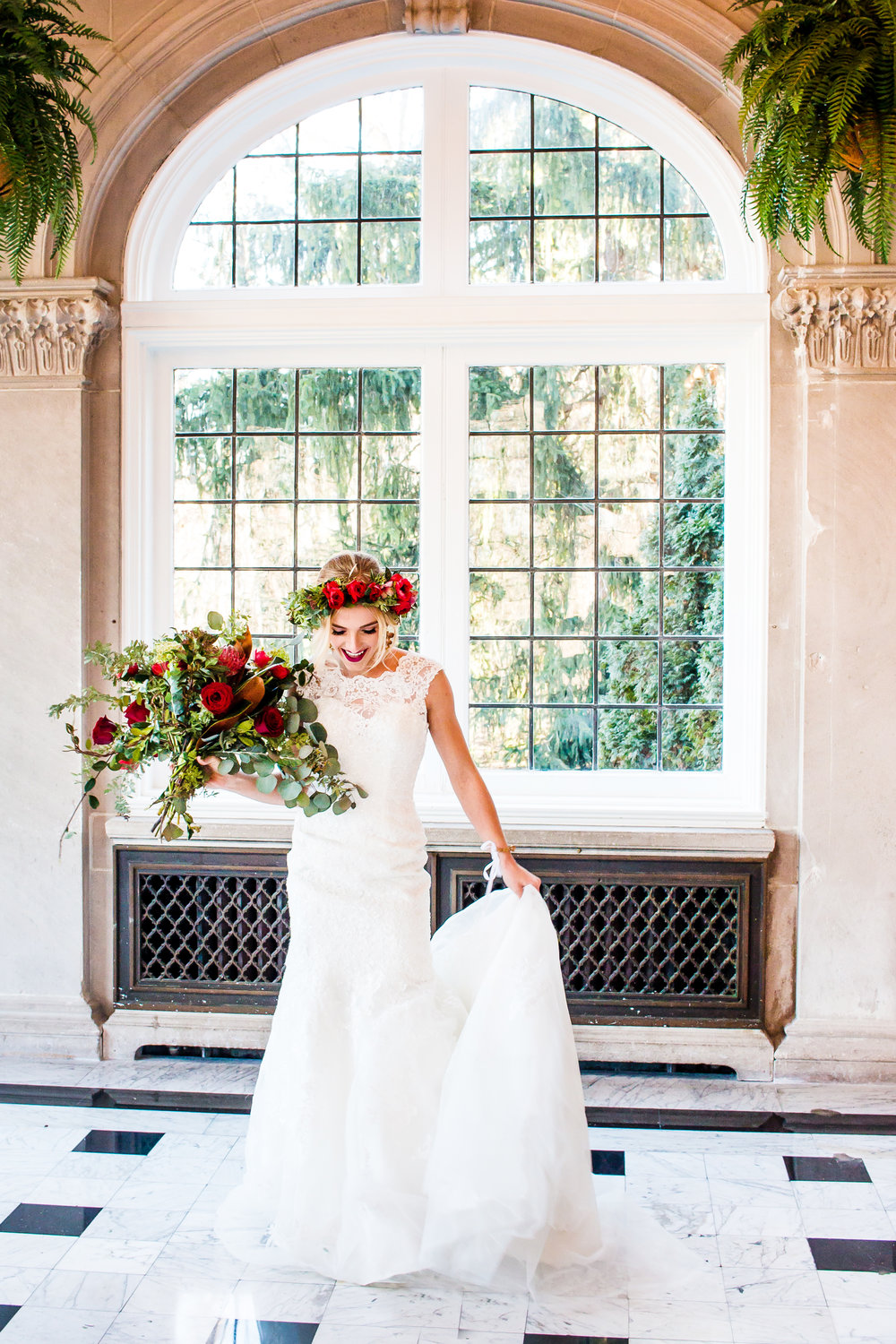 Wedding Photography at Laurel Hall in Indianapolis, Indiana