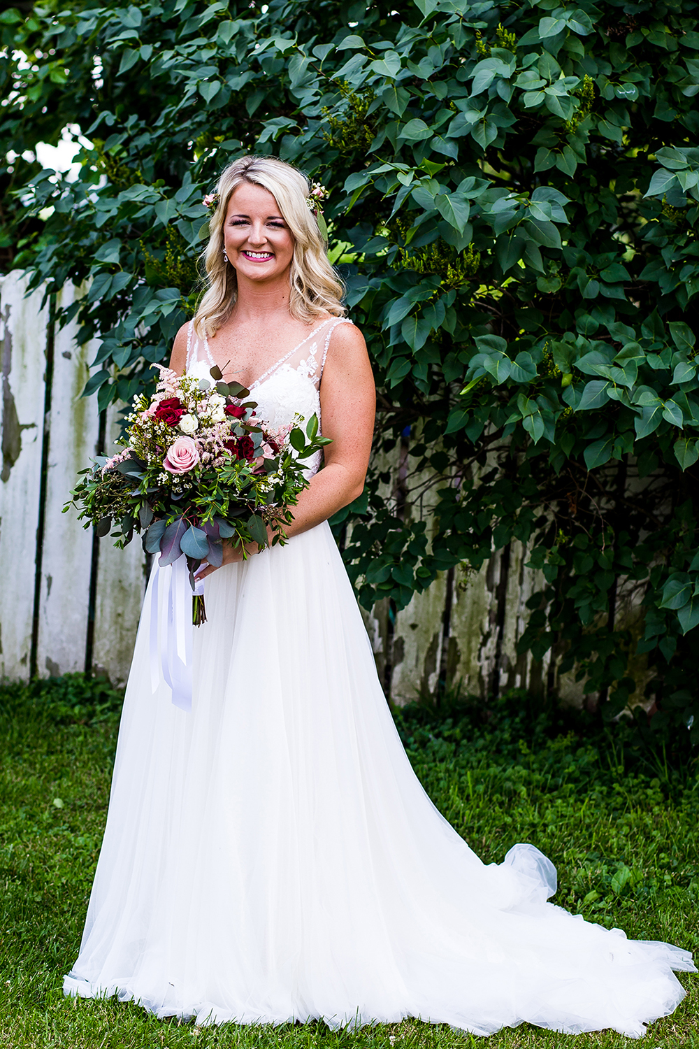 Bridal Portrait in Shelbyville, Indiana wedding photography