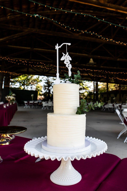 Wedding Cake, Spiderman cake topper