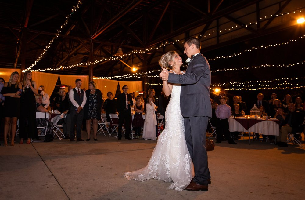 First Dance at the Henry County Arts Park in New Castle, Indiana