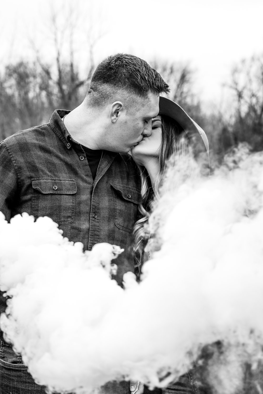 Winter Couples Session Photography in Spiceland, Indiana
