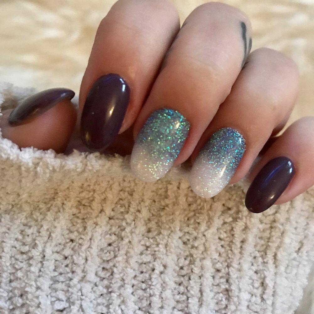 Glitter ombre Design