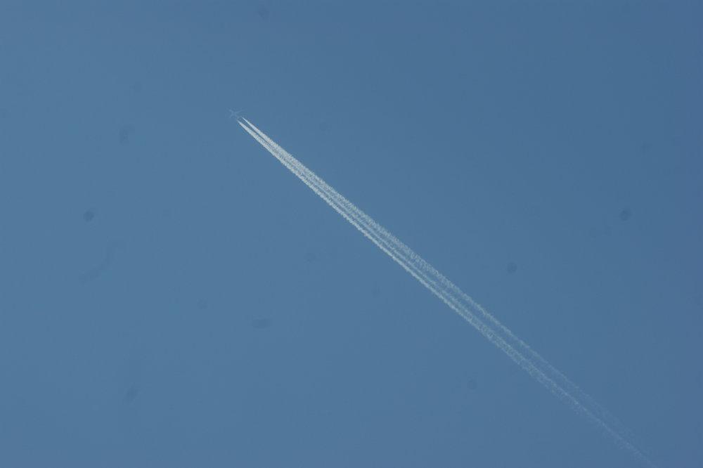 ... trodde inte att jag skulle få med själva flygplanet!
