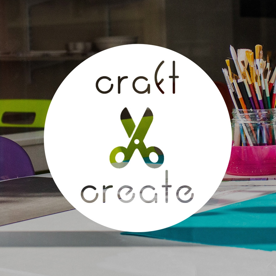 CRAFT AND CREATE - An opportunity for people to get creative with paper, paint, fabric and thread.