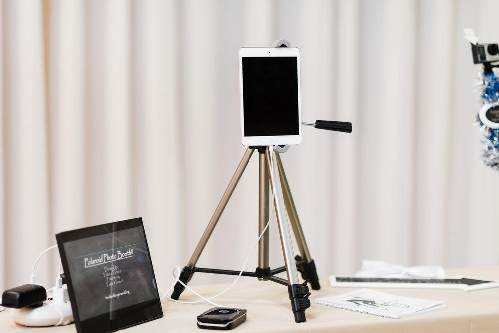 iPad photo booth.