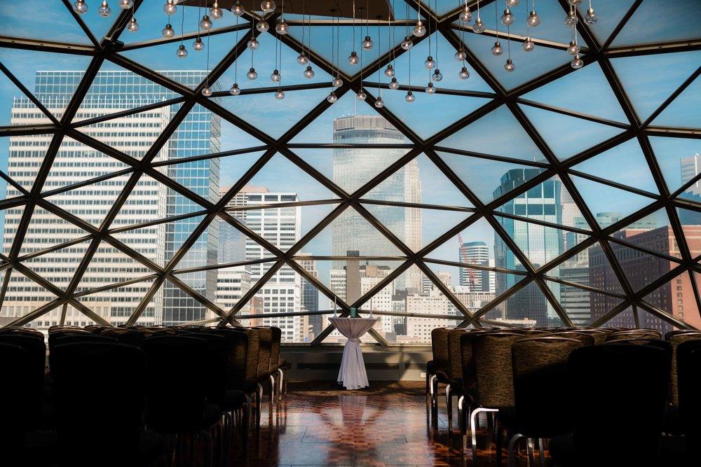 Millennium Hotel Minneapolis wedding ceremony venue