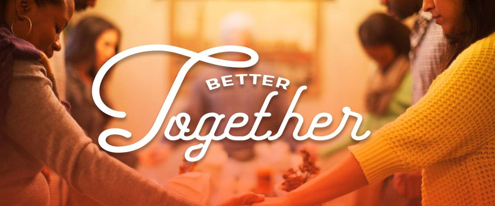 Better Together 2018    November 2018   God opens doors with relationships but through every door there will be opportunity and opposition. It requires courage to stay in community, embracing and honoring our differences. Join us throughout the month of November as we celebrate why we are Better Together!   Sound Cloud    iTunes    Google Play