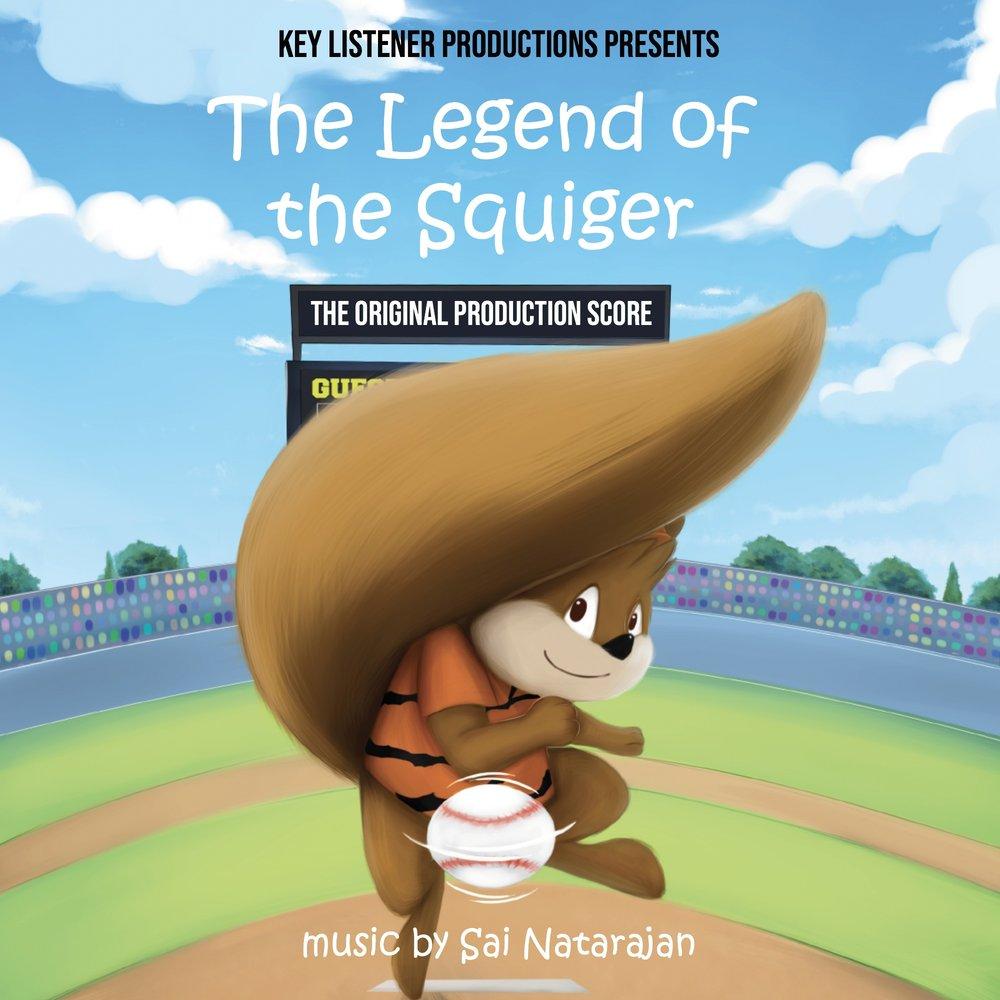 The Legend of the Squiger - Original Score Album Art