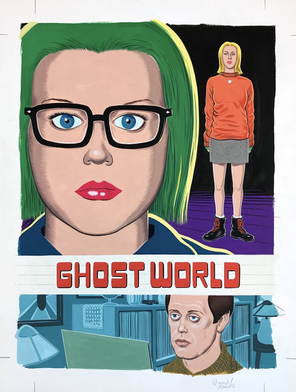 Ghost World Criterion DVD Cover