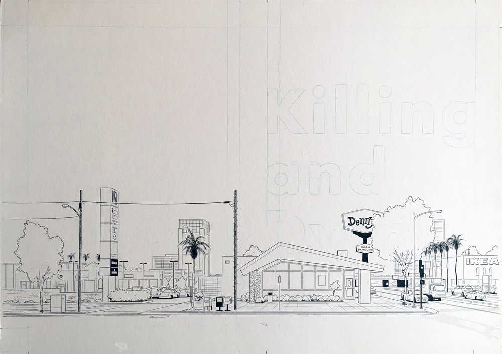 Killing and Dying, Wraparound Cover
