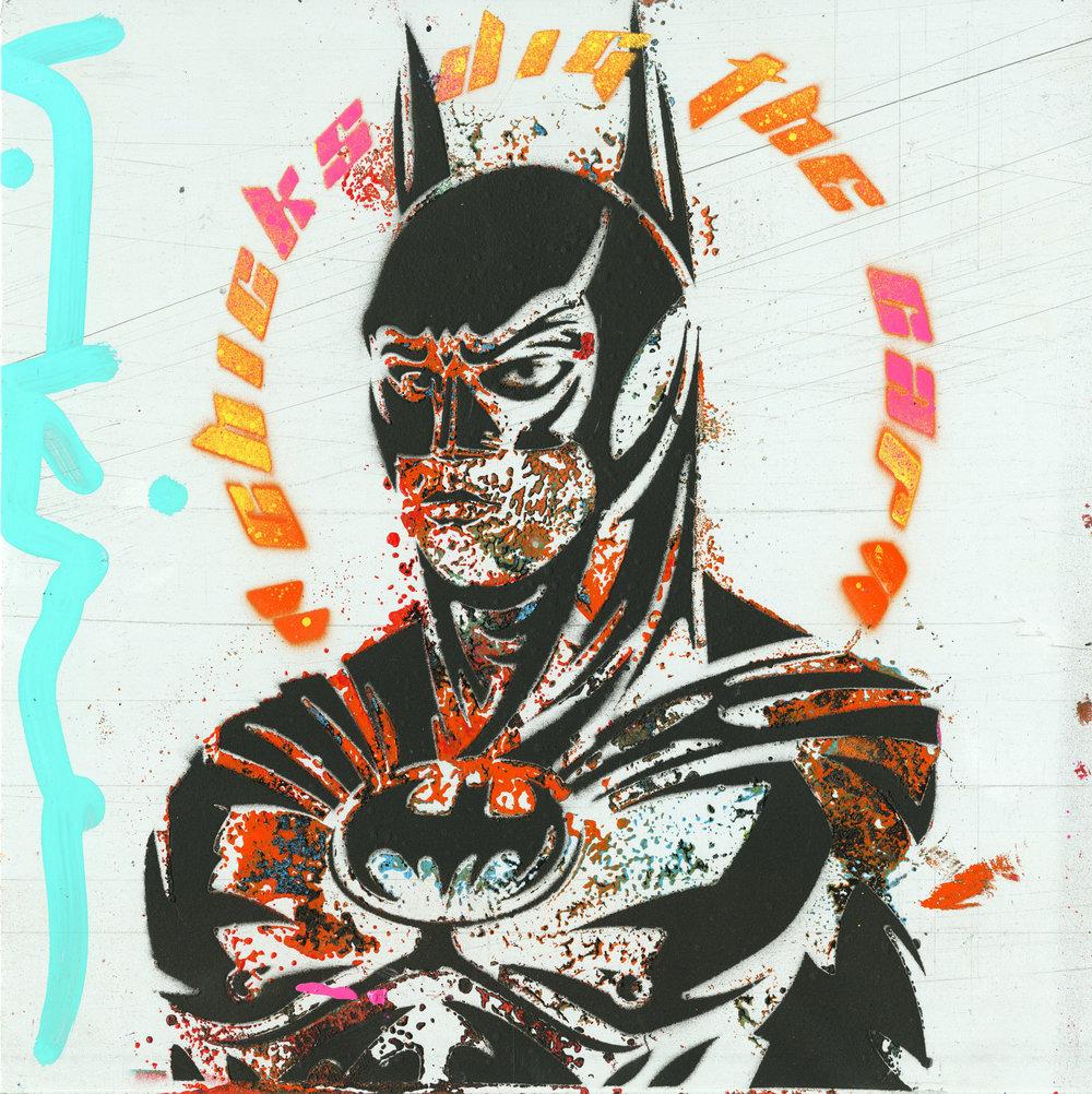 Val Kilmer Art Animazing Gallery Las Vegas Batman Art
