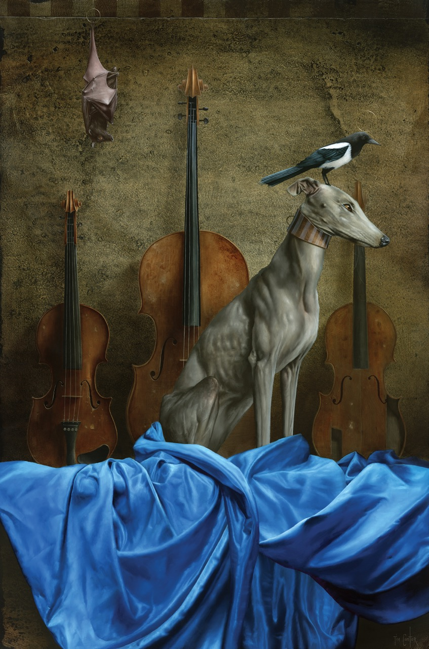 Instruments de Musique   2016  Giclee on Canvas  30 x 20 in.   Edition of 333