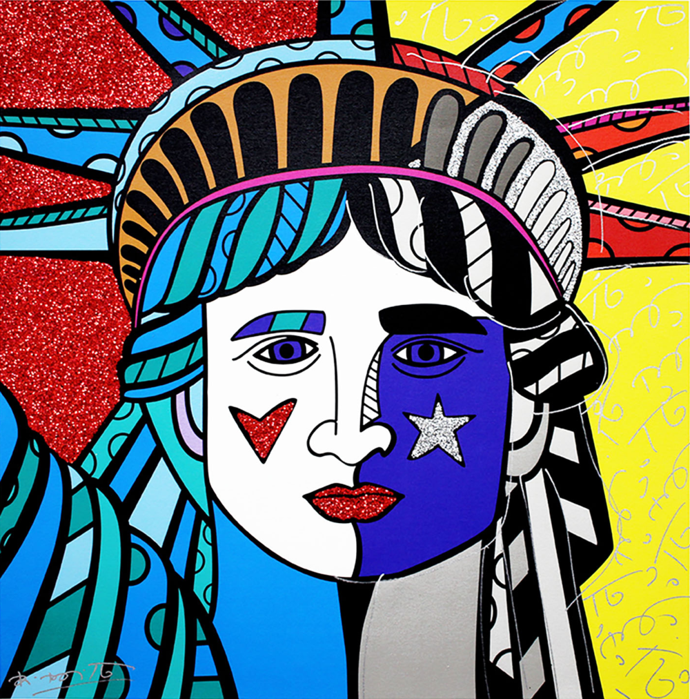Ms. America Giclee on Canvas 30 x 30 in.