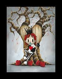 Queen of Broken Hearts   Giclee on Paper