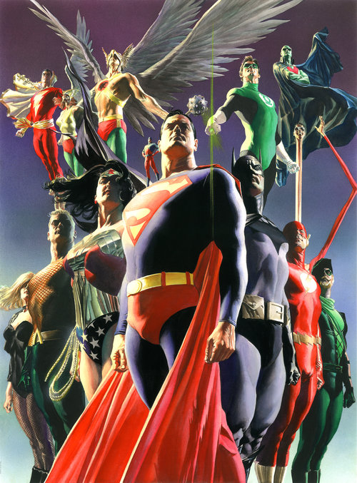 DC COMICS FINE ART