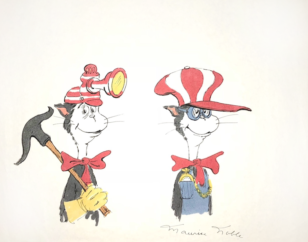 The Cat in the Hat Character Production Study
