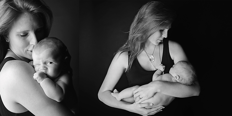 st-louis-newborn-photographer-four-fireflies-photography-7-week-boy-with-mom-black-and-white.jpg
