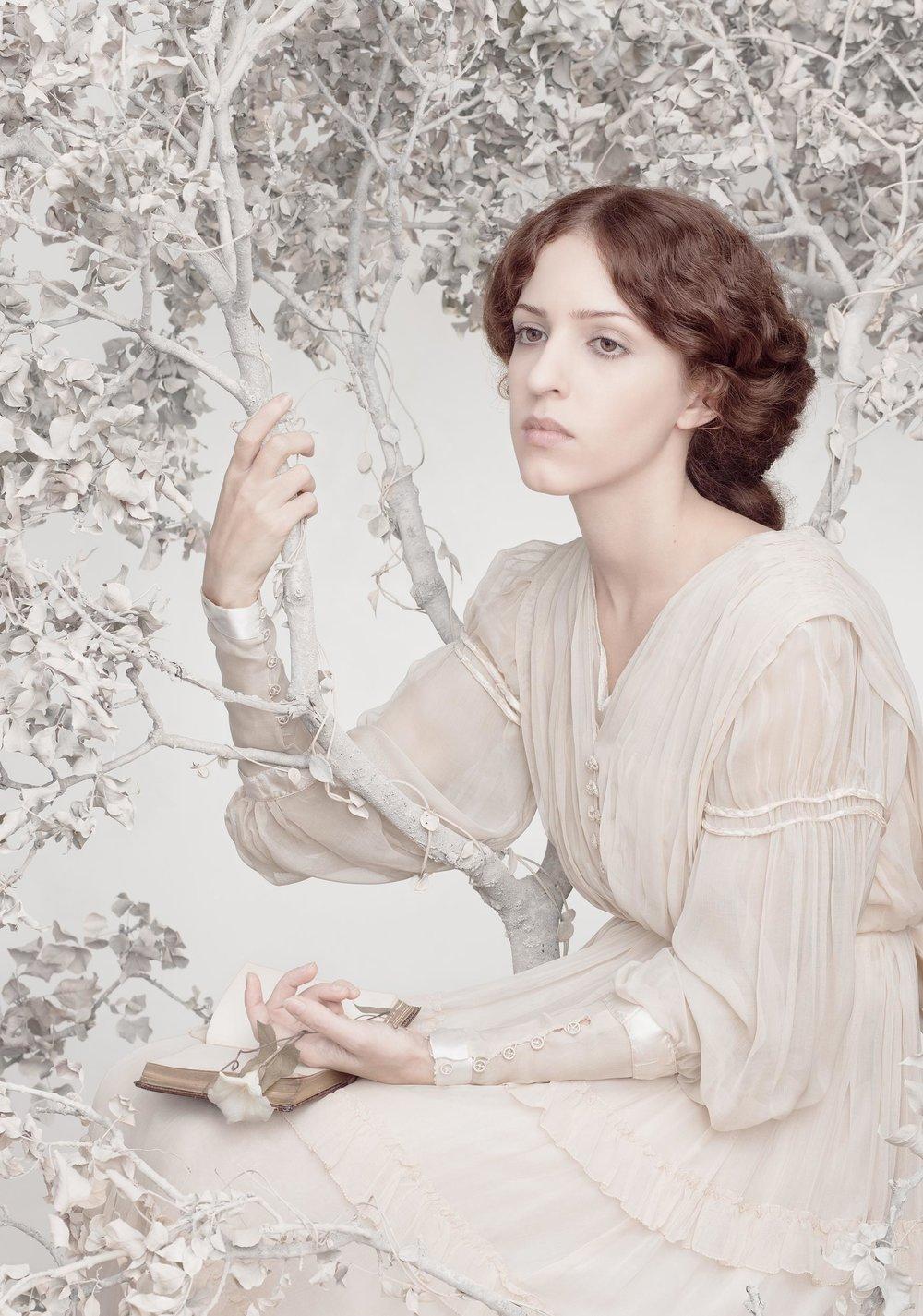 """Daydream<em>, 2012 <p>after """"The Day Dream"""", Dante Gabriel Rossetti, 1880</em>"""