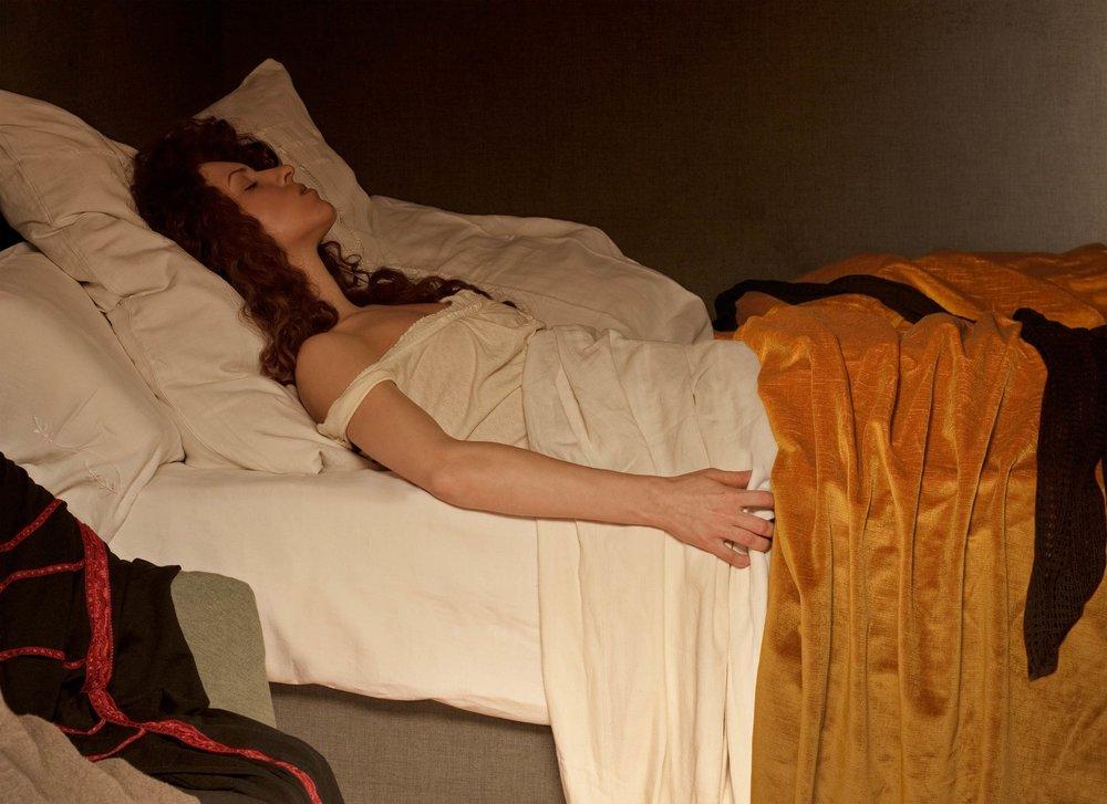 """Morfina <em>, 2010 <p>after """"Morfina"""", Santiago Rusiñol, 1894</em>"""