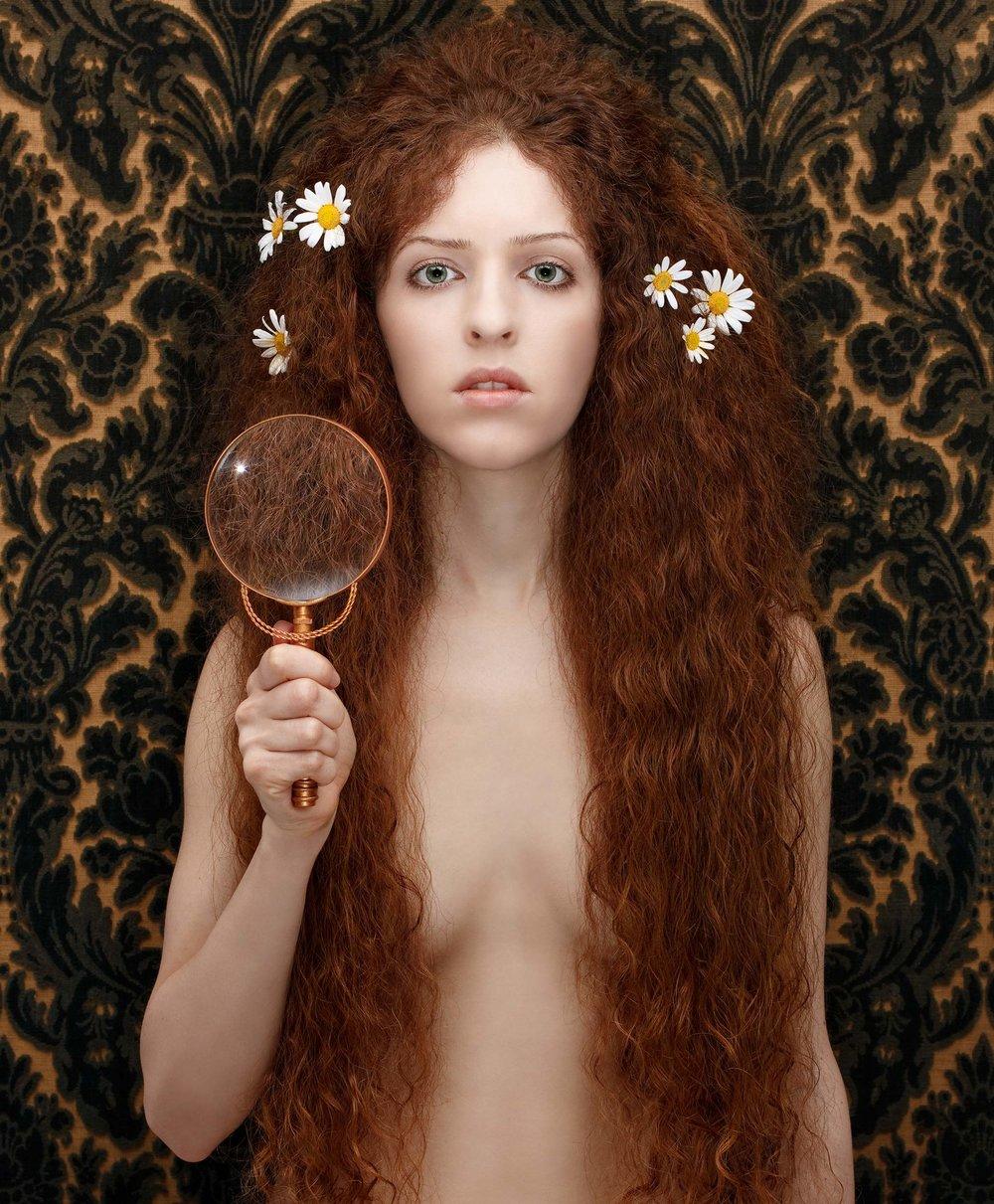 """Nuda Veritas<em>, 2010 <p>after """"Nuda Veritas"""", Gustav Klimt, 1899</em>"""
