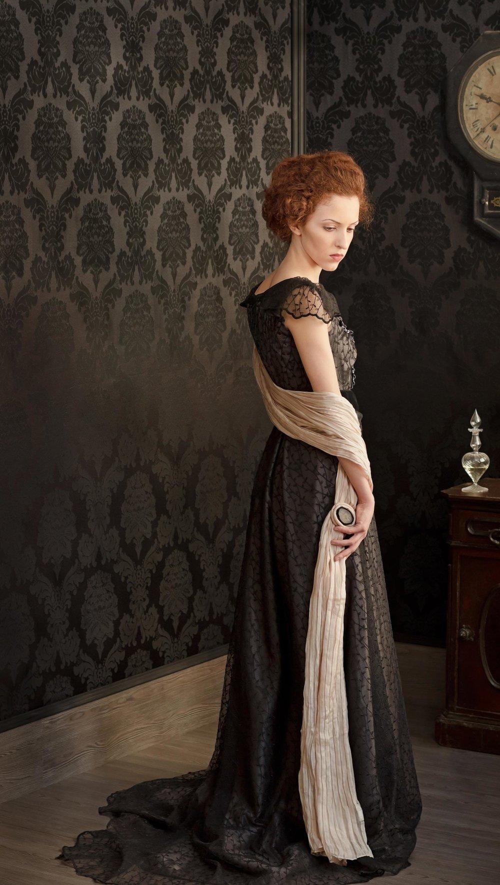 Young Woman in Black<em>, 2011 </em>