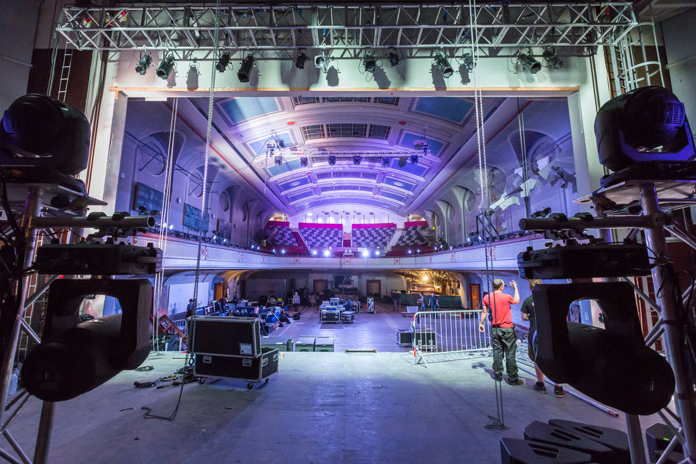 Hidden Door Festival transforming Leith Theatre. Photo by Chris Scott