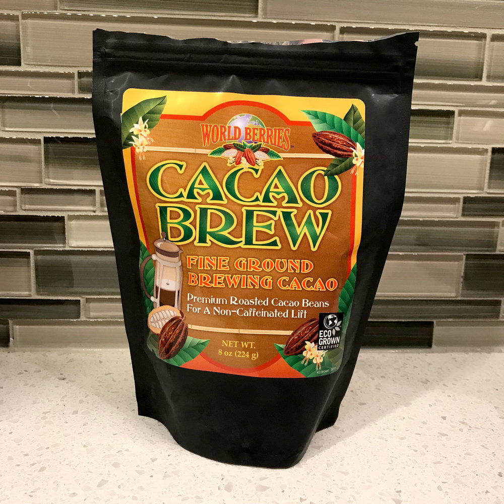 The cacao beans ground for french press! You can get them  here !